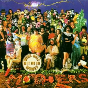 Frank Zappa - Copertina del disco: We're only in it for the money